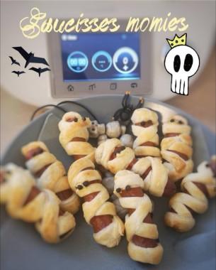 saucisses momies halloween